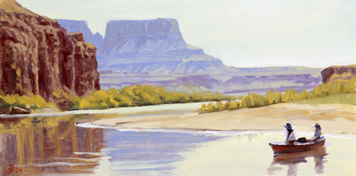 Still Water Canyon, Green River, Canyonlands National Park